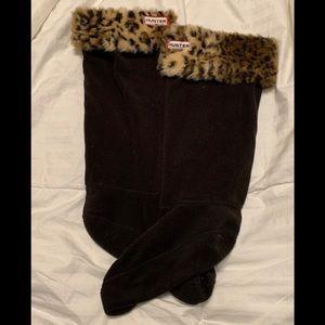 HUNTER boot socks size medium